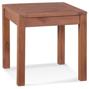 Outdoor Teak End Table