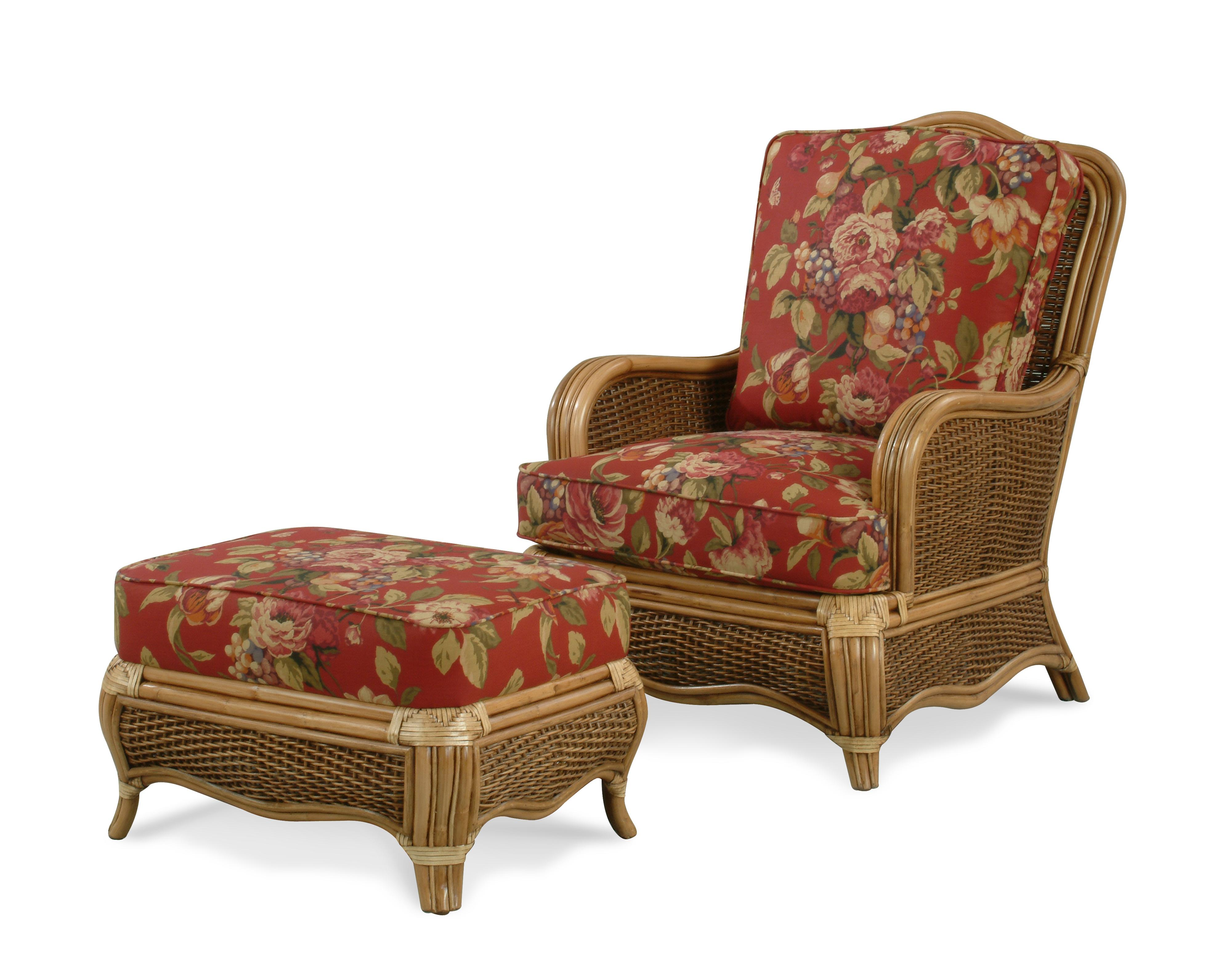 Shorewood chair & ottoman by Braxton Culler at Alison Craig Home Furnishings