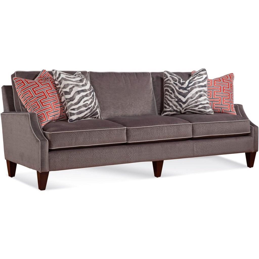 "Urban Options Customizable 83"" Sofa by Braxton Culler at Alison Craig Home Furnishings"