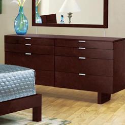 Brazil Furniture Group Violet Triple Dresser