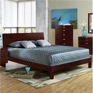 Brazil Furniture Group Violet Queen Bed
