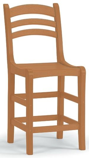 Adirondack Avanti Counter Side Chair by Breezesta at Johnny Janosik