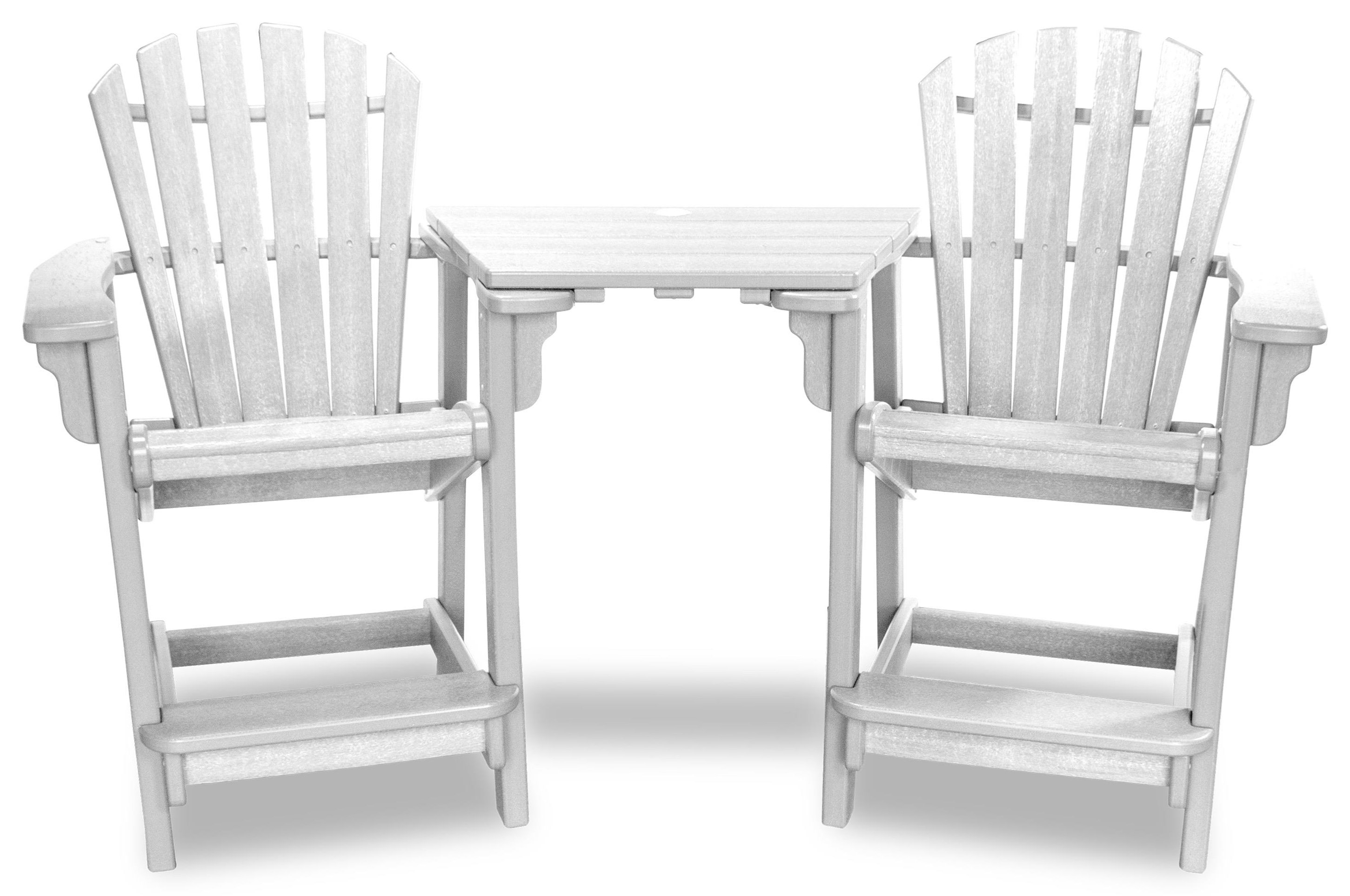 Coastal Tete-A-Tete With 2 Chairs by Breezesta at Johnny Janosik