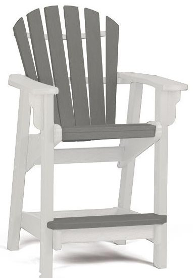 Coastal Counter Chair by Breezesta at Johnny Janosik