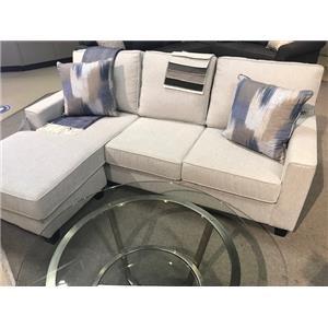 Sofa W/chaise/rewind Cemment/2