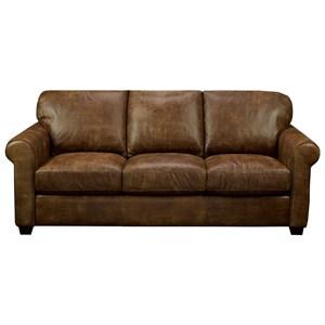 Customizable Sofa with Sock Arms
