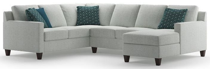 Finley 2 Piece Sectional with Chaise by Brentwood Classics at Stoney Creek Furniture