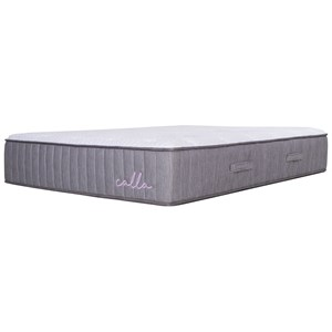 "Twin 14"" Soft Talalay Latex Hybrid Mattress"