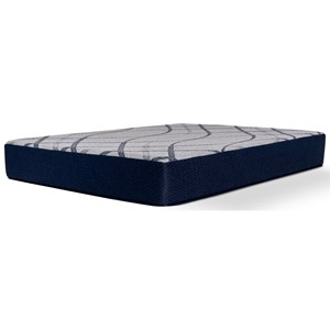 "Queen Medium Midtown 10"" Gel Memory Foam Mattress"