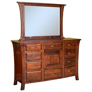 10 Drawer 1 Door Dresser