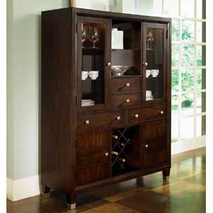 Broyhill Furniture Northern Lights Dining Buffet and China Hutch