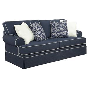 Broyhill Furniture Emily Casual Style Sofa