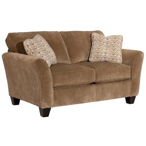 Broyhill Furniture Maddie Contemporary Style Loveseat