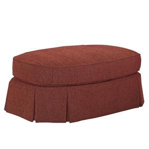 Broyhill Furniture McKinney Oval Ottoman
