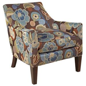 Broyhill Furniture Accent Chairs and Ottomans  Lorenzo Bucket Lounge Chair