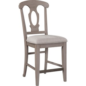 Upholstered Seat Counter Stool