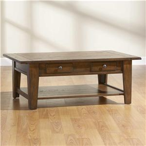 Broyhill Furniture Attic Heirlooms Cocktail Table