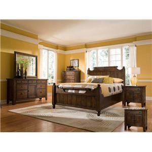 Rustic Oak King Bedroom Suite