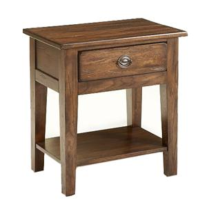 Broyhill Furniture Attic Rustic Nightstand