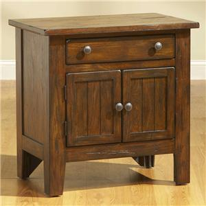 Broyhill Furniture Attic Rustic Night Stand
