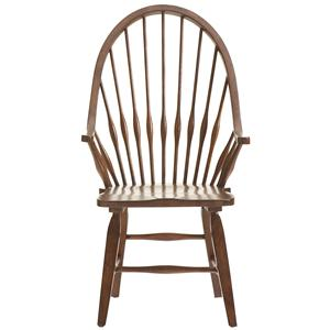 Broyhill Furniture Attic Rustic Dining Arm Chair