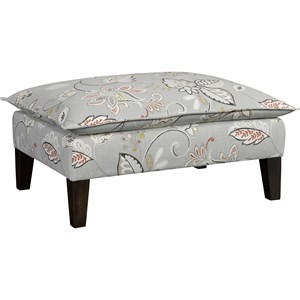 Ottoman & 1/2 with Pillow Top Cushion