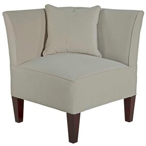 Broyhill Furniture Caitlyn Left Facing Corner Chair