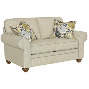 Broyhill Furniture Choices Upholstery <b>Customizable</b>  Loveseat