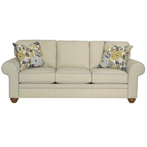 Broyhill Furniture Choices Upholstery <b>Customizable</b> 87 Inch Standard Sofa