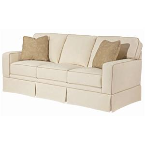 Broyhill Furniture Choices Upholstery <b>Customizable</b> 80 Inch Standard Sofa