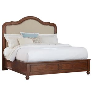 Broyhill Furniture Creswell Queen Upholstered Panel Bed