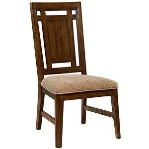 Broyhill Furniture Estes Park Uphosltered Seat Side Chair