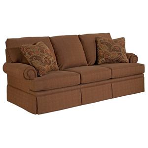 Broyhill Furniture Jenna Queen Air Dream Sofa Sleeper