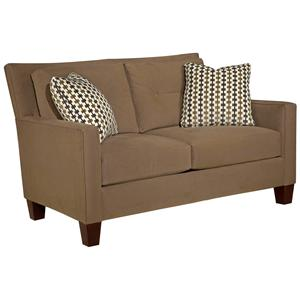 Broyhill Furniture Jevin Modern Loveseat