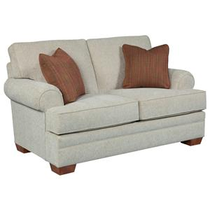 Broyhill Furniture Landon Transitional Loveseat