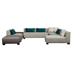 Broyhill Furniture Milo Contemporary Sectional Sofa