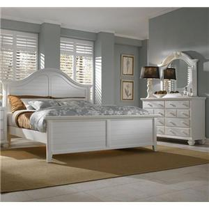 Broyhill Furniture Mirren Harbor 5 Piece Queen Bedroom Collection