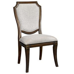 Side Chair with Upholstered Seat and Back