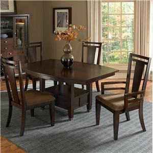 Broyhill Furniture Northern Lights 5 Piece Dining Table Set