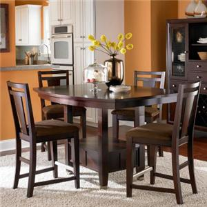 Broyhill Furniture Northern Lights 5 Piece Counter Height  Set