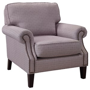 Nevis Accent Chair with Nailhead Trim
