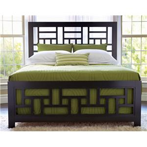 Broyhill Furniture Perspectives Queen Lattice Bed