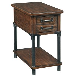 Accent Table with Shelf