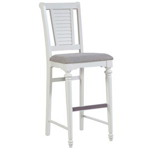 Broyhill Furniture Seabrooke Upholstered Bar Stool