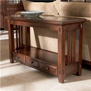 Broyhill Furniture Vantana Three Drawer Sofa Table