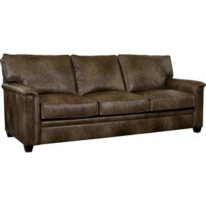 Sleeper Sofa with Nailhead Trim Accents and iRest Mattress
