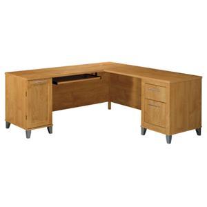 "Bush Somerset  71"" L-Desk"