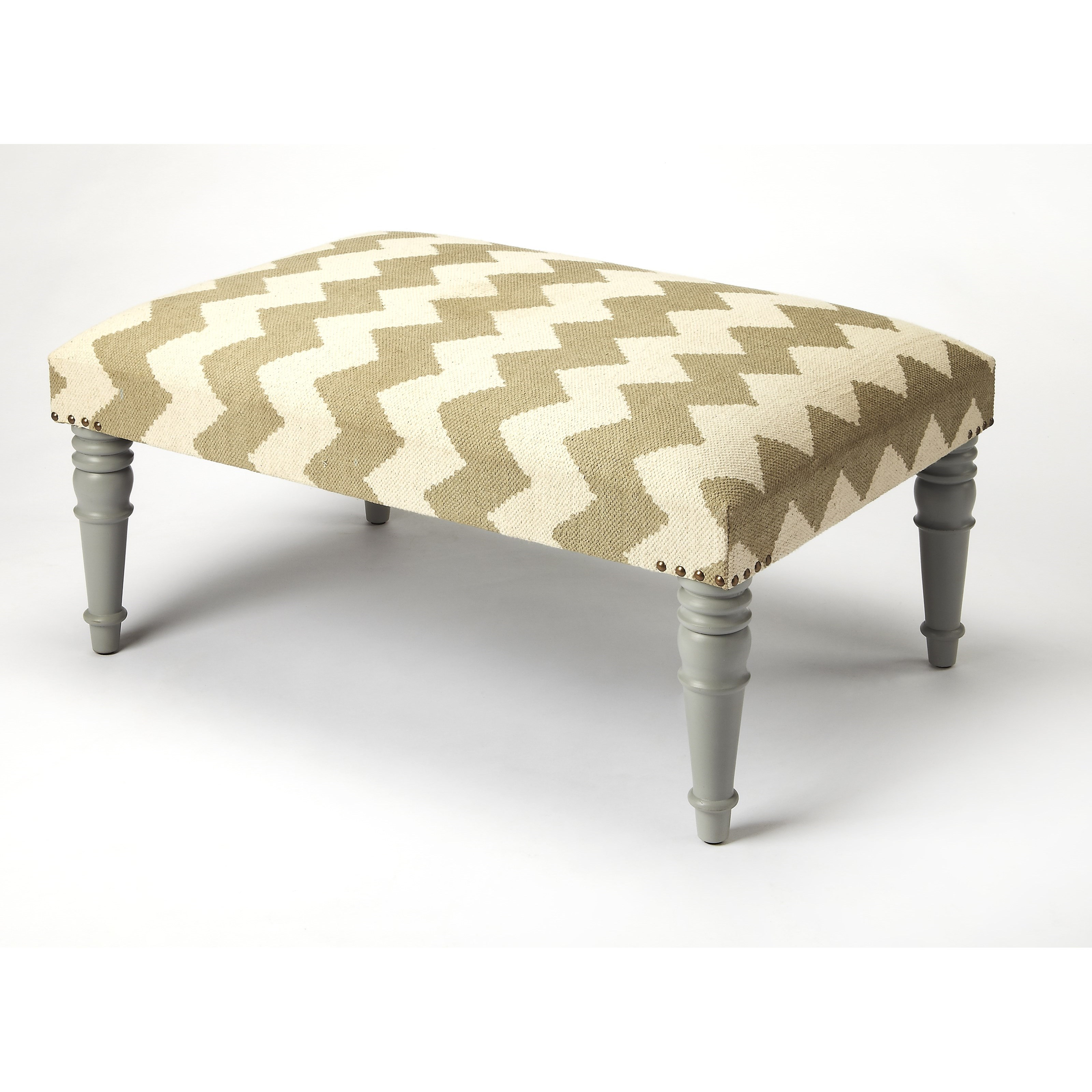 Accent Seating Cocktail Ottoman by Butler Specialty Company at Mueller Furniture