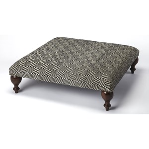 Romulus Upholstered Cocktail Ottoman