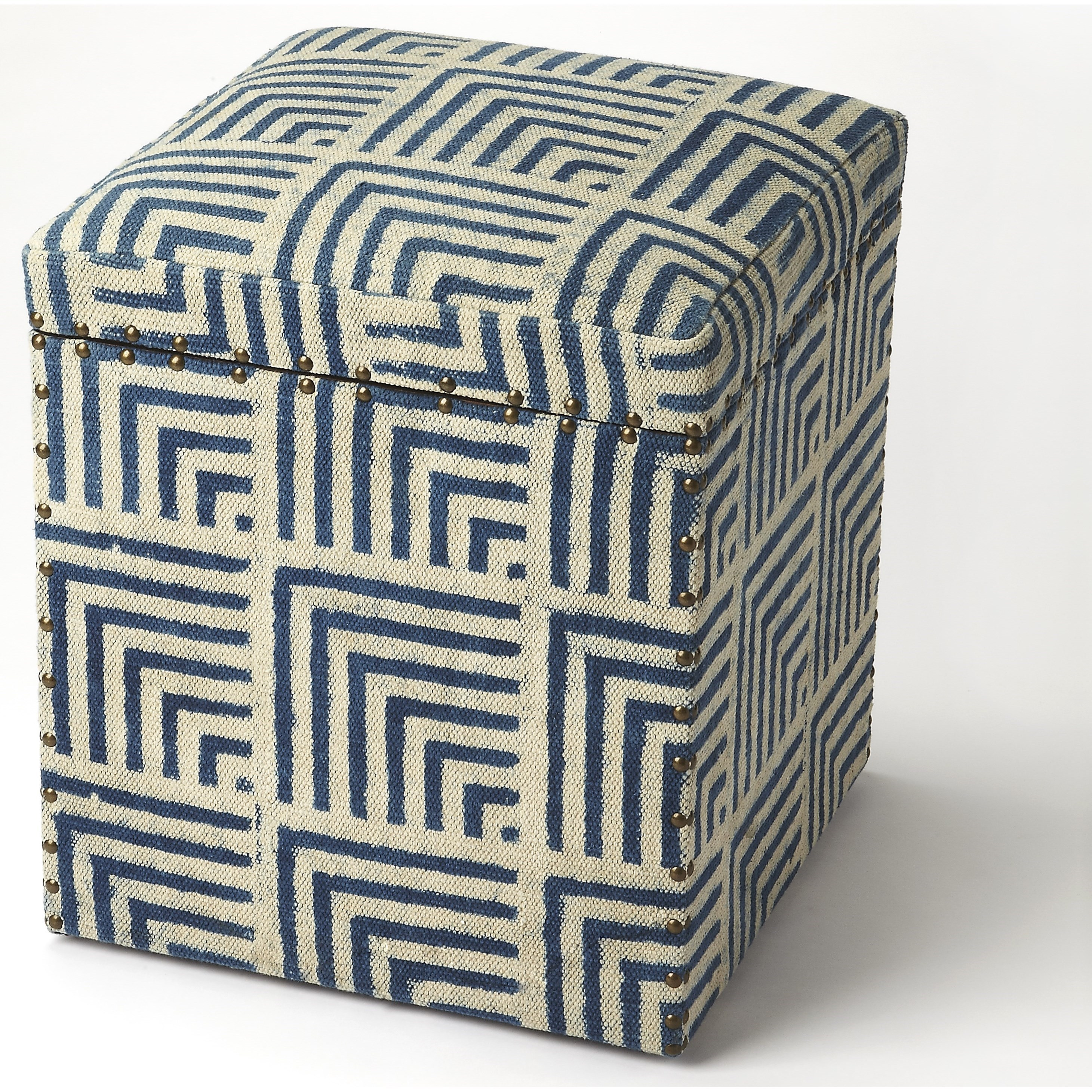 Accent Seating Storage Ottoman by Butler Specialty Company at Mueller Furniture